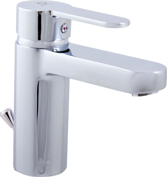 Bath lever mixer with pop-up waste