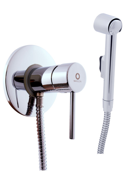 Mixers for bidet with wall with a hygienic shower