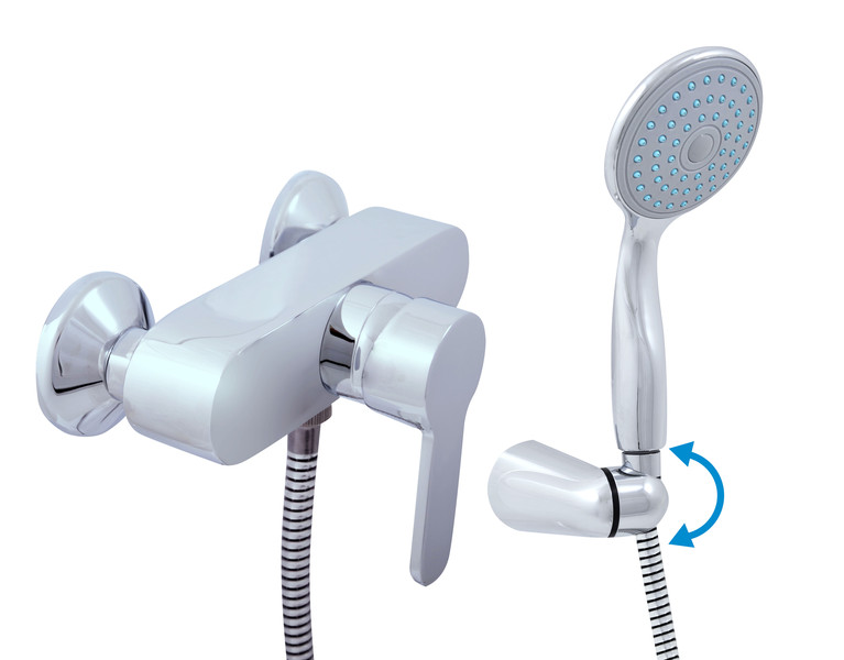 Shower faucets with shower head