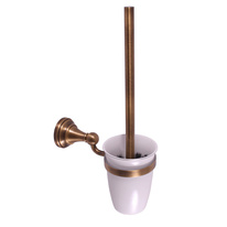 toilet brush holder glass