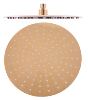 Head shower - round, brass ø 30 cm