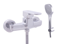 Bath lever mixer with set YUKON