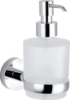 Soap dispenser glass